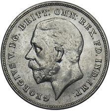 More details for 1935 crown - george v british silver coin - superb