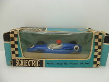 Scalextric C58 Cooper in Blue, mint car in rare export box.