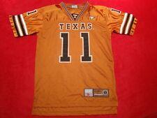 Colosseum Youth Boys Texas Longhorns #11 Burnt Orange Football Jersey Size XL 20