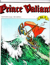 "Prince Valiant Vol 8-1990-Strip Reprints Soft Cover-"" Prince /Thule -1st Print """