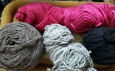 New listing Mixed Wool Yarn lot Worsted to bulky