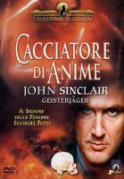 CACCIATORE DI ANIME DVD NUOVO SIGILLATO JOHN SINCLAIR EAGLE PICTURES
