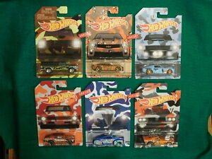 2016 Hot Wheels ~ Camouflage Series ~ Complete Set of 6
