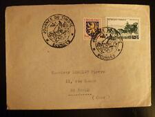 FRANCE PREMIER JOUR FDC YVERT 919    JOURNEE DU TIMBRE   12+3F   BOURGES   1952