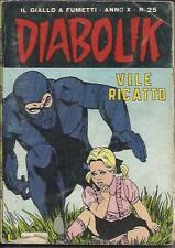 DIABOLIK anno X n° 25 (Astorina, 1971)