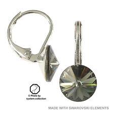 Ohrringe mit Swarovski Elements, Farbe: Schwarzer Diamant