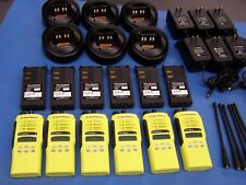 6 Motorola HT1250 LS+ UHF 450-512 HT 1250 LS+ Excellent