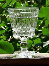 Indiana Glass Goblet Water Vintage Colony Park Lane