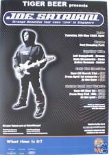 JOE SATRIANI 2003 SINGAPORE CONCERT TOUR POSTER -GUITAR