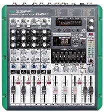 Mixer Compatto 6 Canali con Multieffetto DSP e funzione Recording ZZipp Mx6r