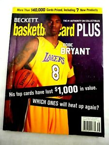 Kobe Bryant Beckett Basketballcard Plus Magazine Winter 2005 Issue 17