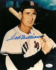 Ted Williams Signed Authentic Autographed 8x10 Photo JSA #Z32131
