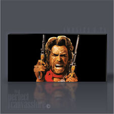 CLINT EASTWOOD JOSIE WALES ICONIC CANVAS ART PRINT Art Williams UPGRADE 120x56cm