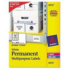 Avery Permanent Multipurpose Labels - 6572