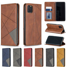 New Leather Flip Wallet Folio Phone Case Cover For iPhone 11 Max X XR SE (2020)