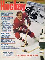 1975 (Dec.) Action Sports Hockey Magazine, Guy Lafleur, Montreal Canadiens~ VG