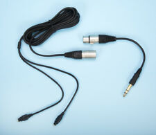 SENNHEISER 4-Pin XLR Balanced Cable for HD-6XX, HD-580, HD-600 + ADAPTER / 10ft.