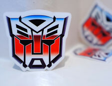 "#1163 Retro Old style Autobot Transformers 5cm 2"" Small Phone Size Decal Sticker"