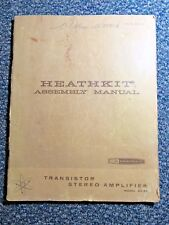 Heathkit Manual: Transistor Stereo Amplifier Model AA-22