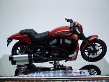 Harley Davidson Modelo, 2012 Barra De Noche Special (33), Maisto Moto 1:18