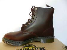 Dr Martens Pascal Brando Chaussures 36 Bottes Bottines Bordeaux Montantes Neuf
