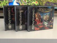 Legend of Dragoon, Contra  Gran Turismo PlayStation 1 Set Of 3