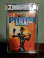 DC Comics STATIC  CGC 9.4 6/93 1ST APP OF STATIC Shock COLLECTORS Ed w/ poster