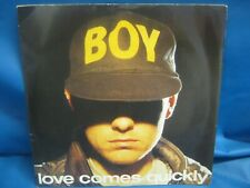 "RECORD 7"" SINGLE PET SHOP BOYS LOVE COMES QUICKLY 3079"