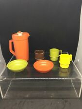 VTG Tupperware Toys Lot (6) Pitcher Cups Bowls