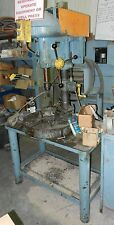 Clausing Drill Press On Bench With Vise  110 volts WVS