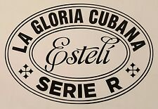 La Gloria Cubana Serie R Esteli cigar decal