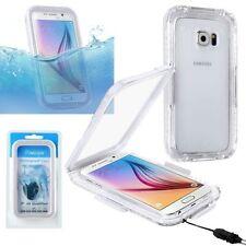 Étuis, housses et coques avec clip blancs transparents pour téléphone mobile et assistant personnel (PDA) Samsung