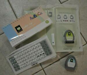 Cricut Font Cartridge ABC Cuttin' Up w/ Box Inserts & Life Is A Beach L@@K!