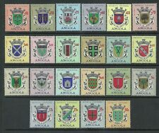 Angola 1963 - Angola City Arms set MNH