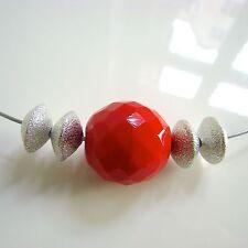 Handgefertigte Modeschmuck-Halsketten & -Anhänger im Collier-Stil aus Edelstahl