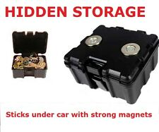 SECRET MAGNETIC CAR TRUCK VAN STASH SAFE HIDDEN STORAGE COMPARTMENT STASH BOX