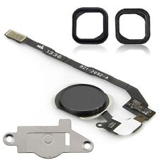 For iPhone 5S Black Home Button Replacement Kit With Seal & Holding Bracket