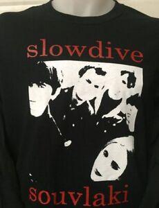 SLOWDIVE SOUVLAKI ROCK BAND MUSIC T SHIRT