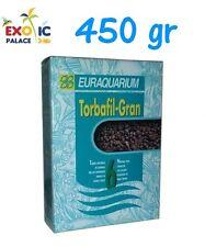 TORBA IN GRANULI TORBAFIL PER ACQUARIO ACQUA DOLCE FONDO FONDALE GRANULATO 450gr