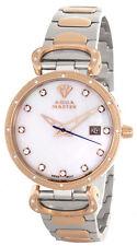 Aqua Master Womens Pearl Dial Two Tone Stainless Steel Bracelet Watch W#359_5