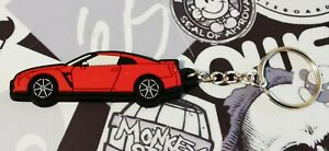 Nissan GTR R35 Key Anello Red
