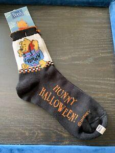 Disney Pooh Hunny Halloween Womens Ankle Socks