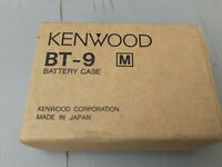 Kenwood BT-9 M alkaline battery tray case for TH-22/42/79 transceiver - Neuf