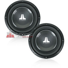 "Two (2) JL Audio 10W1v3-4 10"" SVC 4-Ohm 10W1v3 Car Subwoofers 1,200W Subs New"