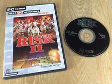Riesgo II 2 PC CD ROM Juego en todo el mundo rápido post! 2000 Juego De Estrategia Tipo Atari