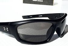 NEW* Under Armour POWER in Matte Black w Grey Lens Sunglasses! Run Bike
