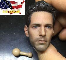 1/6 Paul Rudd Ant man head 2.0 for custom Hot toys Phicen ZC body ❶US Seller❶