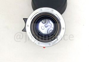 6 bit flange adapter type II for Leica M8 M9 lens 28mm 90mm 11804 28/2.8 v3