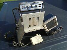 Vintage Pace Cb radio Motorola Speaker w/Floor Mount