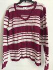 St Johns Bay Womans Sweater Size XL Pink Retails 36 5hmbx-46-4